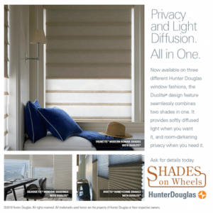 Hunter Douglas Shades Duolite®