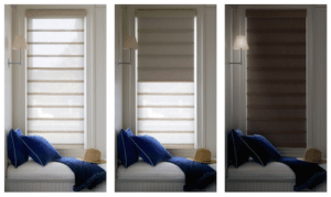 Hunter Douglas Vignette® Modern Roman Shades with Duolite®