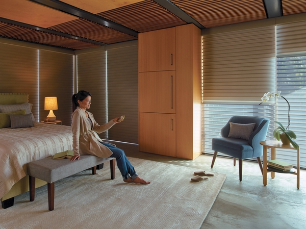 Hunter Douglas PowerView Motorizes Shades