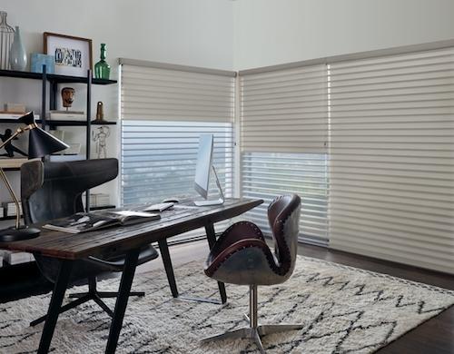 Room darkening shades Silhouette Duolite