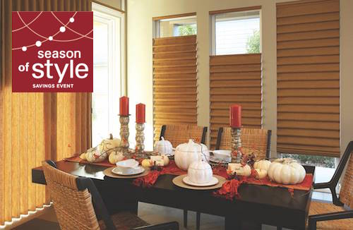 Traditionally the best blinds for your windows are Vignette Roman Shades
