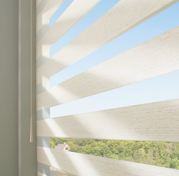 Hunter Douglas Window Shades with SoftTouch Motorization