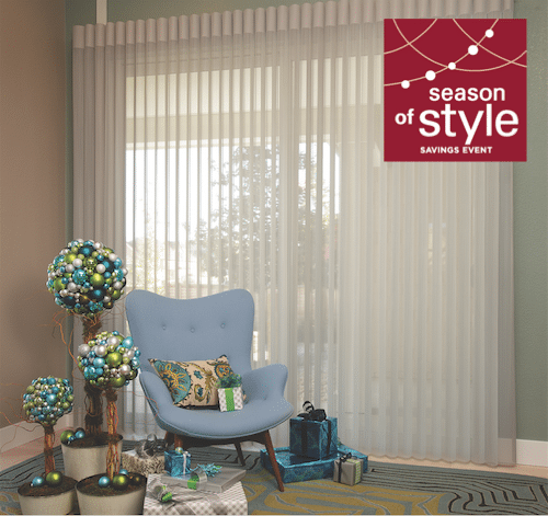 Savings on select Hunter Douglas window fashions this fall