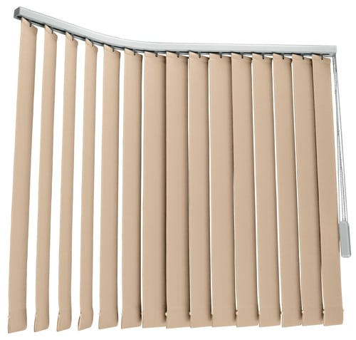 Vertical Blinds Beige Color