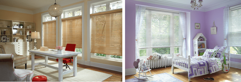 Parkland wood window blinds