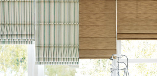 Hunter Douglas Design Studio Fabric Roman Shades Styles