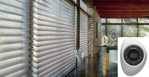 Motorized Hunter Douglas Shades