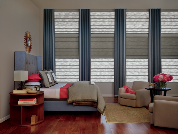 Vignette® Rolling Style Roman Shades