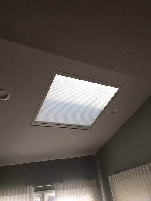 Skylight Blinds Are Stylish Easy To Operate And Control Temperature