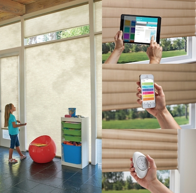 Hunter Douglas PowerView Motorized Blinds