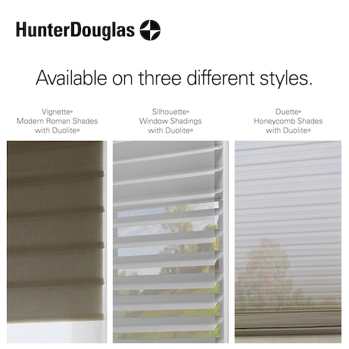 Hunter Douglas Duolite Shades