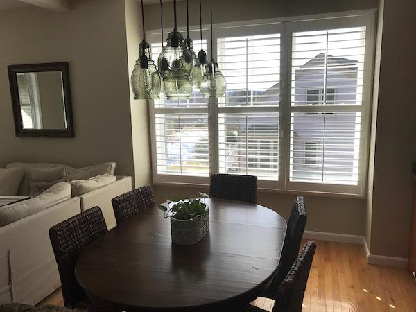 white home shutters