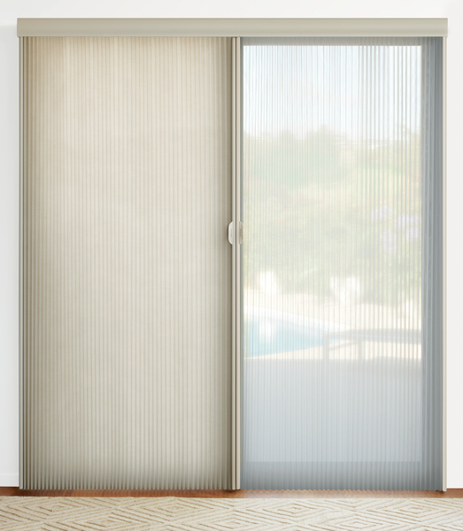 Vertical Blinds Sliding Doors